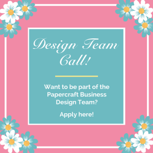 Design Team Call 1 - Papercraft Business