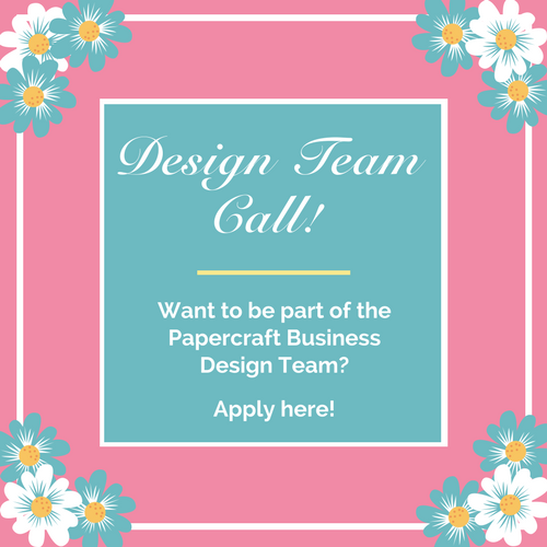 Design Team Call - Papercraft Business