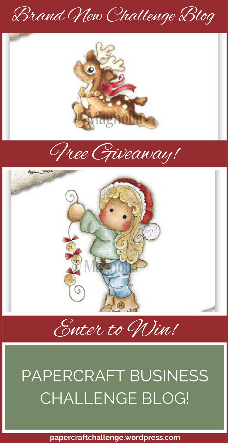 Free Giveaway - Papercraft Business Challenge Blog