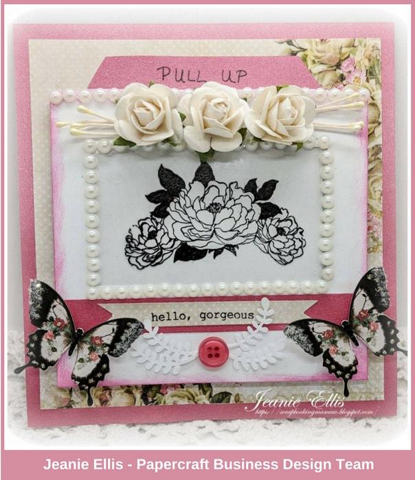 Papercraft Business Challenge #2 - Jeanie Ellis