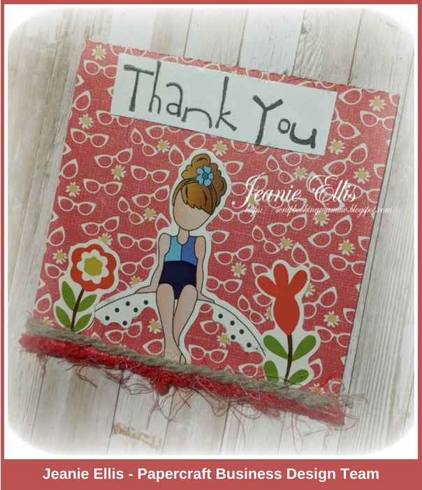 Jeanie - Papercraft Business Challenge #10