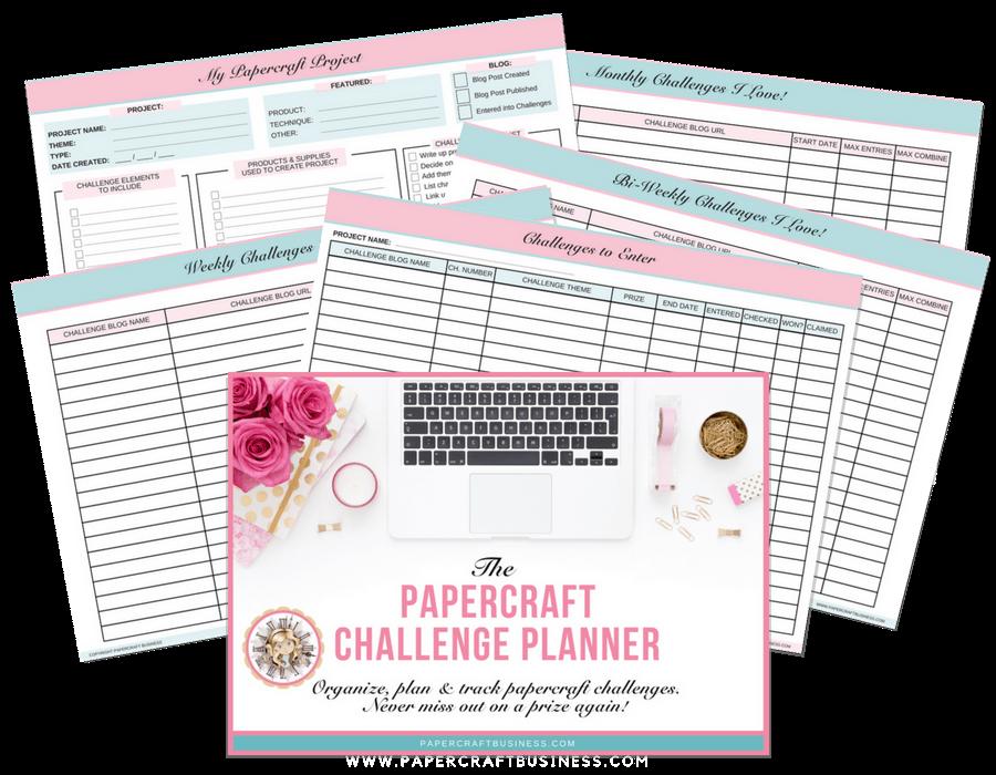Papercraft Challenge Planner