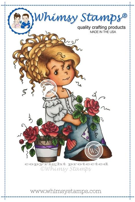 Wee Florist Stamp