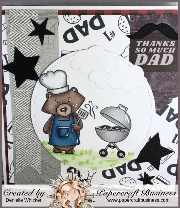 Papercraft Business Challenge #22 - Denielle Whicker