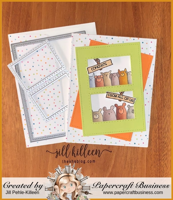 Papercraft Business Challenge #22 - Jill Pehle-Killeen