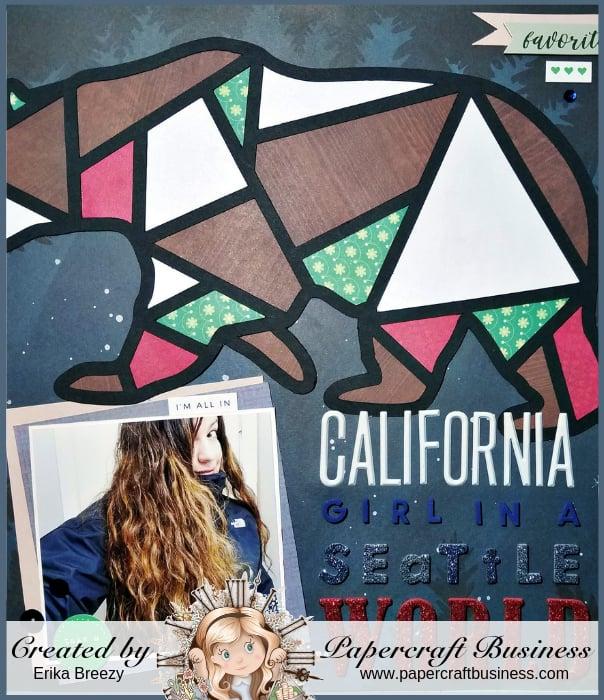 Papercraft Business Challenge #22 - Erika Breezy
