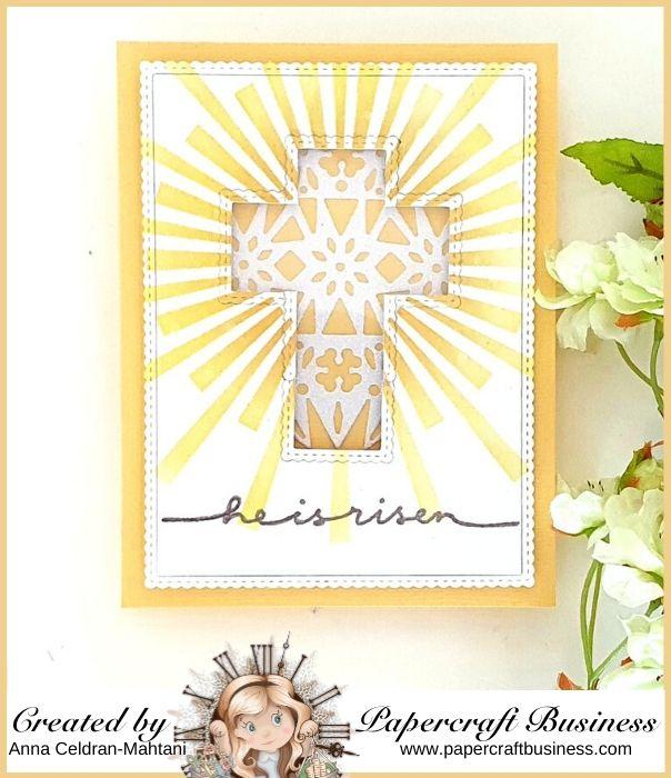Papercraft Business Challenge #28 - Anna Celdran Mahtani