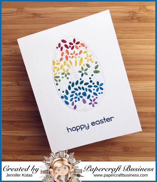 Papercraft Business Challenge #28 - Jennifer Kotas