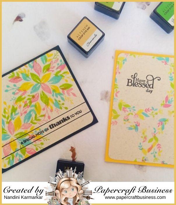 Papercraft Business Challenge #28 - Nandini Karmarkar
