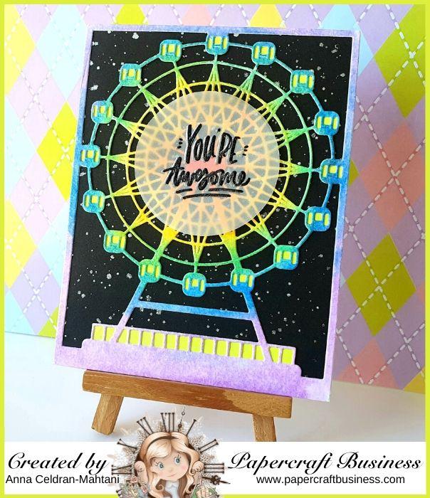 Papercraft Business Challenge #29 - Anna Celdran Mahtani