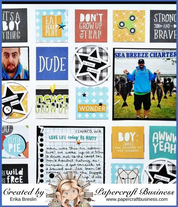 Papercraft Business Challenge #30 - Erika Breezy
