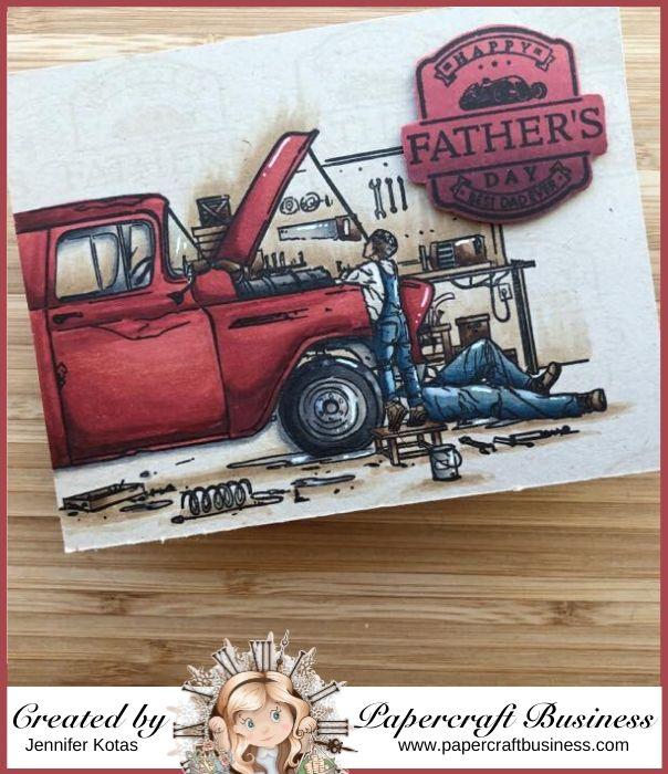 Papercraft Business Challenge #30 - Jennifer Kotas