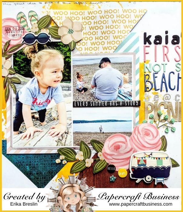 Papercraft Business Challenge #31 - Erika Breezy