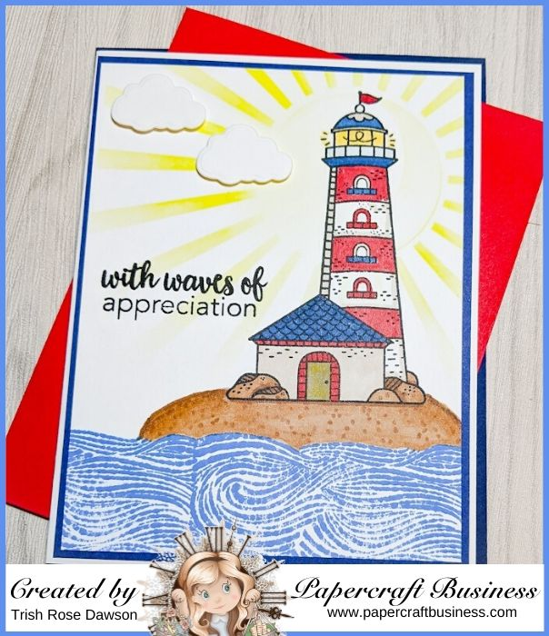 Papercraft Business Challenge #31 - Trish Rose Dawson